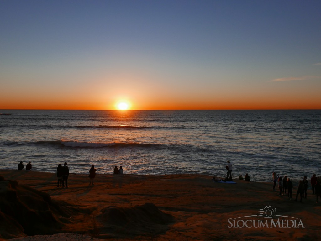 Sunset Cliffs, San Diego. January 2016. © Daniel W. Slocum